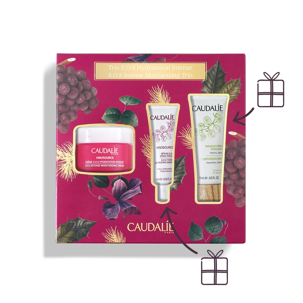 CAUDALIE COFFRET 2019 VINOSOURCE CREME