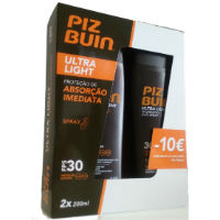 PIZ BUIN IN SUN SPRAY FPS 30 200MLX2