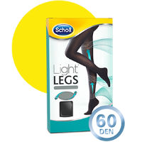 SCHOLL LIGHT LEGS COLL COMP 60DEN XL PRETO