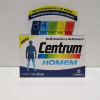 CENTRUM HOMEM COMP X 30 COMPS RETINOL (VITAMINA A) COLECALCIFEROL (VITAMINA D3)