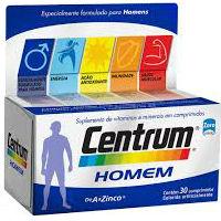 CENTRUM HOMEM DE 30 COMPRIMIDOS