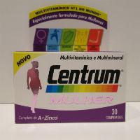 CENTRUM MULHER COMP X 30 COMPS RETINOL (VITAMINA A) TOCOFEROL (VITAMINA E) COLEC