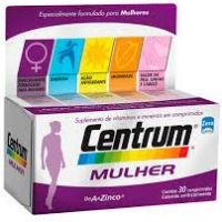 CENTRUM MULHER DE 30 COMPRIMIDOS