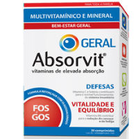 ABSORVIT GERAL DE 30 COMPRIMIDOS